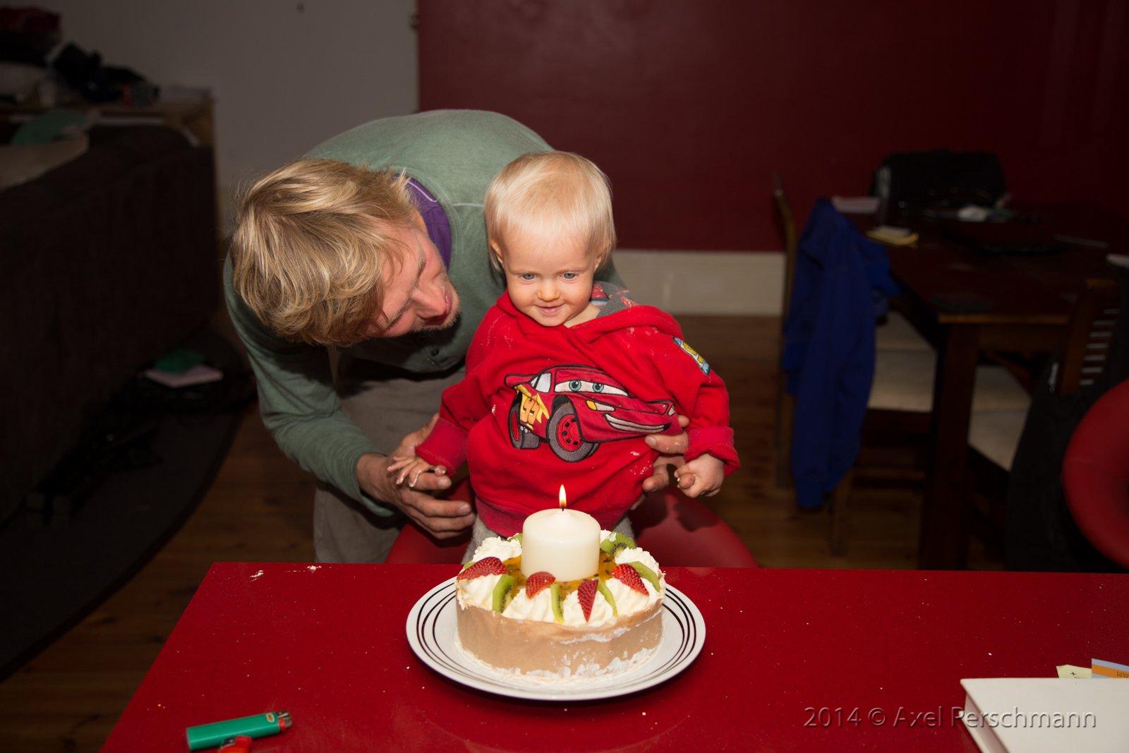 Finjas erster Geburtstagskuchen