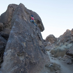 Happy Boulders, Bishop, California, USA