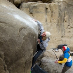 "Brad Saunders in ""Moment of Truth"", V8 (fb7b+)"