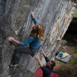 "Daniela Ebner in ""Angle Traverse"", fb6B+"