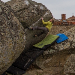 """First Ascent: Axel Perschmann in """"Into the Wild"""", fb7A"""