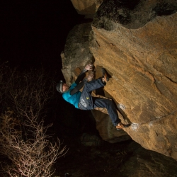 "First Ascent: Jochen Perschmann in ""Terrormeer"", fb8A"