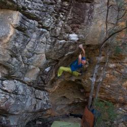"First Ascent: Axel Perschmann in ""Simplicity"", V12"