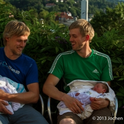 Die Perschmann Brüder mit Nachwuchs