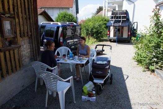 Jochen und Miri zu Besuch