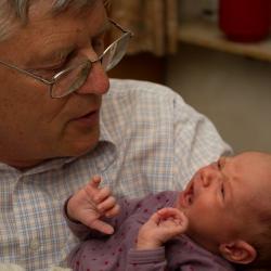 Besuch bei Opa Ulrich