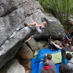 Green Boulder Contest Final Men