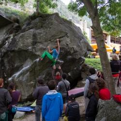 Green Boulder Contest Final Women