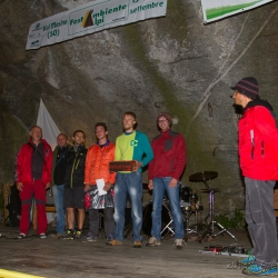 Green Boulder Contest Ceremony
