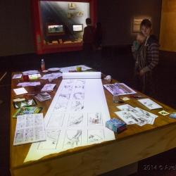 ACMI Dreamworks Trickfilmaustellung