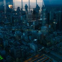 Blick vom Eureka 88 Skydeck
