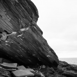 "Paul Notdurfth in ""Green Scream"" - fb7C (First Ascent)"