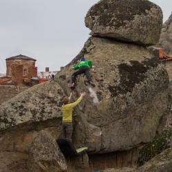"""First Ascent: Jochen Perschmann in """"Kleine Raupe Nimmersatt"""""""