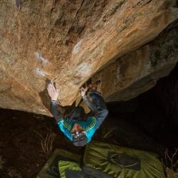 """First Ascent: Jochen Perschmann in """"Terrormeer"""", fb8A"""