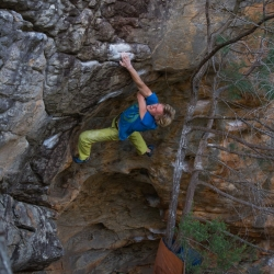 "First Ascent: Axel Perschmann in ""Simplicity"", V12"