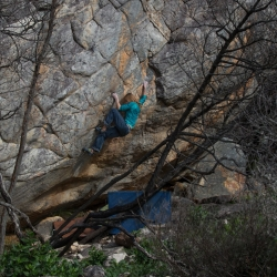 "Katinka in ""The Ramp"", V7"