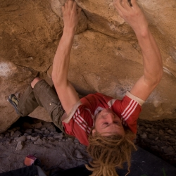 "Tom Thudium in ""Acid Wash"", V10"
