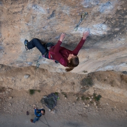 Katinka Mühlschlegel in a nameless 7c